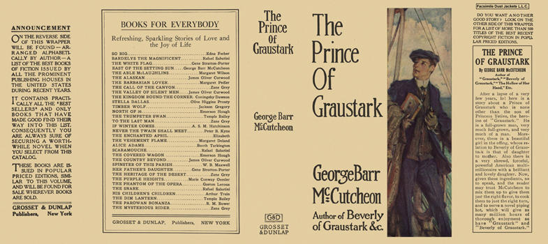 Prince of Graustark, The. George Barr McCutcheon.