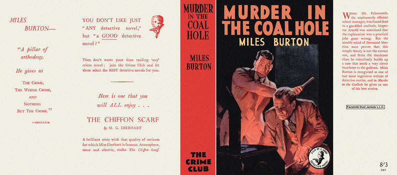 Murder in the Coal Hole. Miles Burton.
