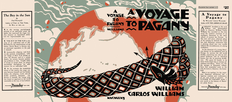 Voyage to Pagany, A. William Carlos Williams