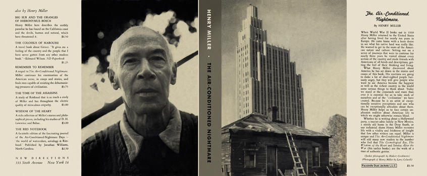 Air-Conditioned Nightmare, The. Henry Miller