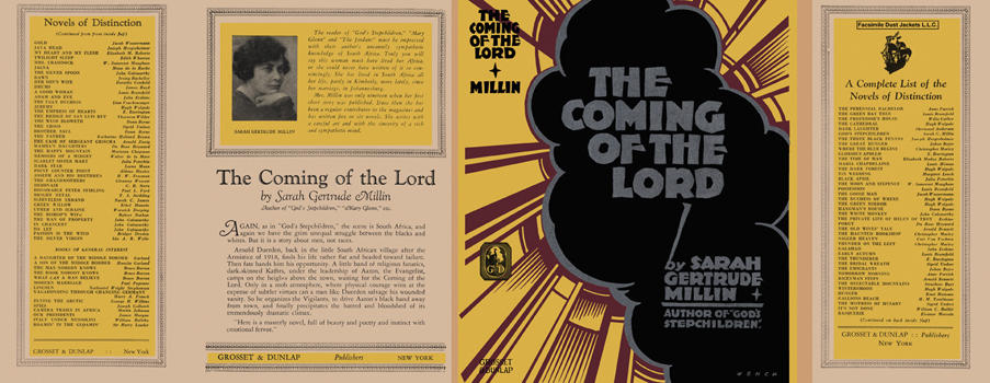 Coming of the Lord, The. Sarah Gertrude Millin