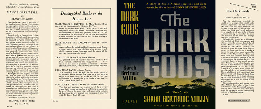 Dark Gods, The. Sarah Gertrude Millin