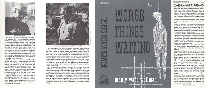 Worse Things Waiting. Manly Wade Wellman, Lee Brown Coye.