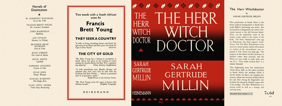 Herr Witch Doctor, The. Sarah Gertrude Millin