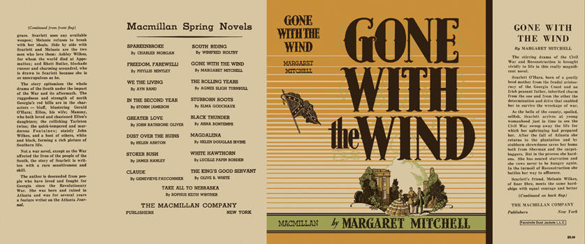 Gone With The Wind Book By Margaret Mitchell