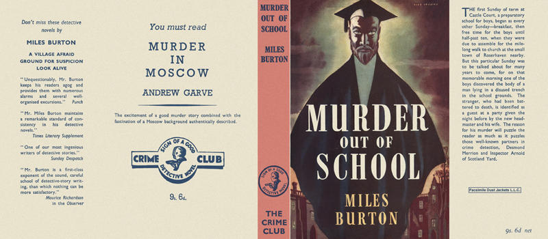 Murder Out of School. Miles Burton.