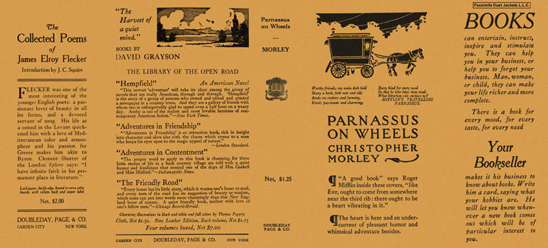 Parnassus on Wheels. Christopher Morley