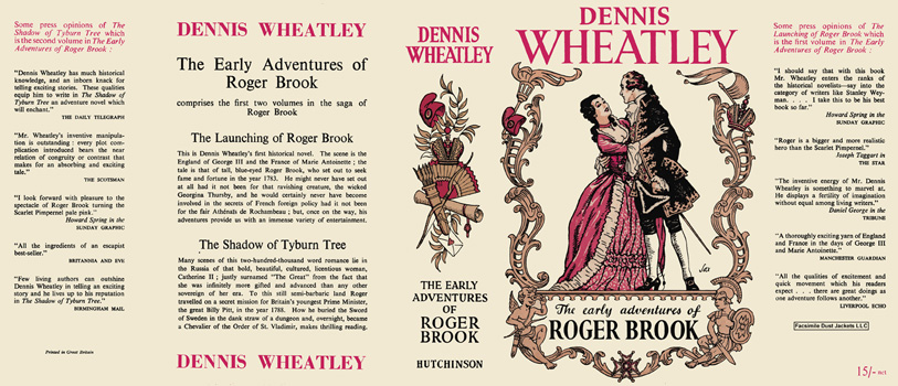 Early Adventures of Roger Brook, Omnibus, The. Dennis Wheatley.