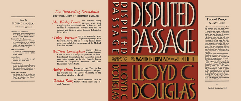 Disputed Passage. Lloyd C. Douglas