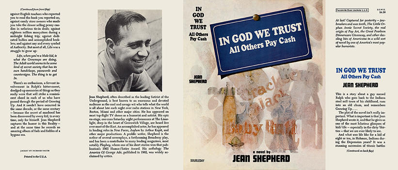In God We Trust, All Others Pay Cash. Jean Shepherd
