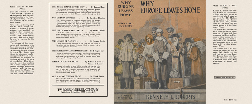 Why Europe Leaves Home. Kenneth L. Roberts.