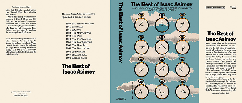 Best of Isaac Asimov, The. Isaac Asimov