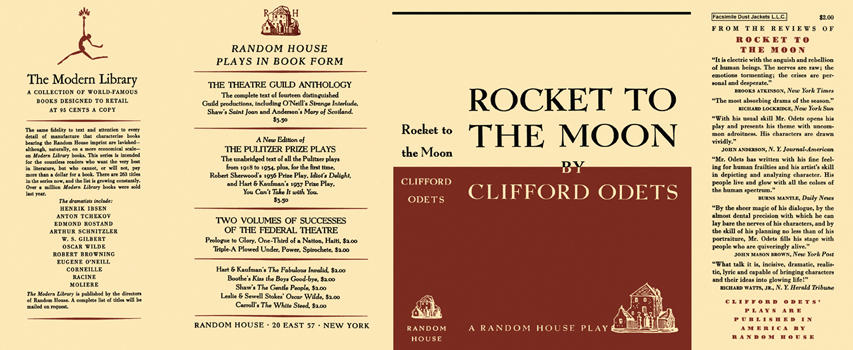 Rocket to the Moon. Clifford Odets