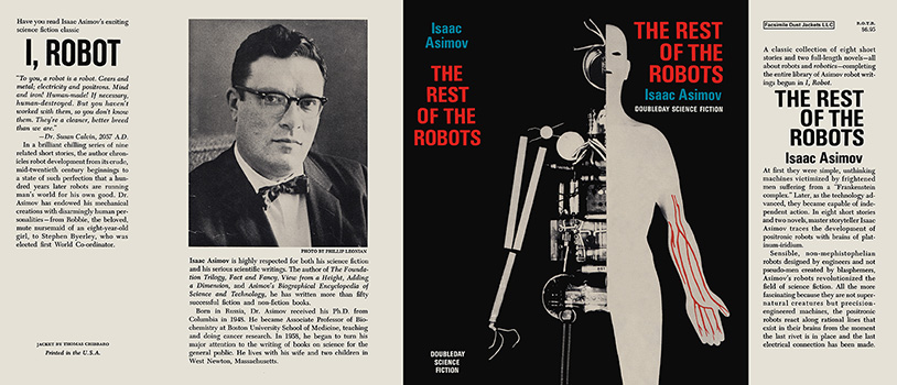 Rest of the Robots, The. Isaac Asimov