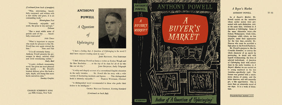 Buyer's Market, A. Anthony Powell.