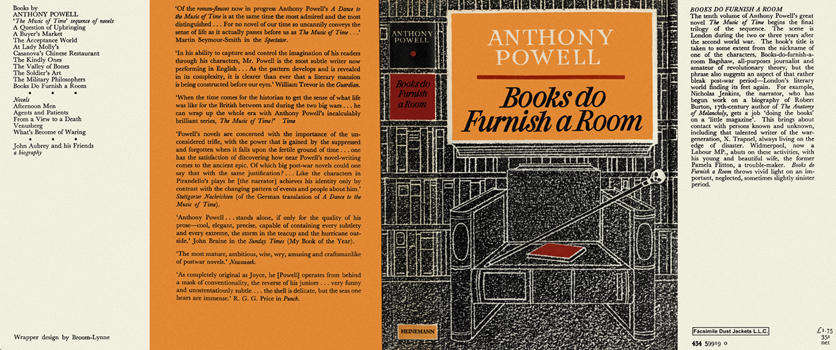 Anthony Powell Books Do Furnish A Room