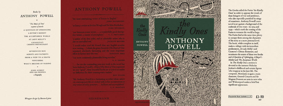 Kindly Ones, The. Anthony Powell.