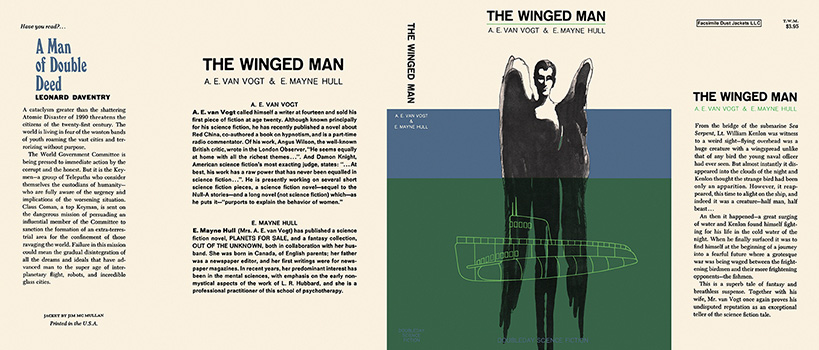 Winged Man, The. A. E. Van Vogt, E. Mayne Hull