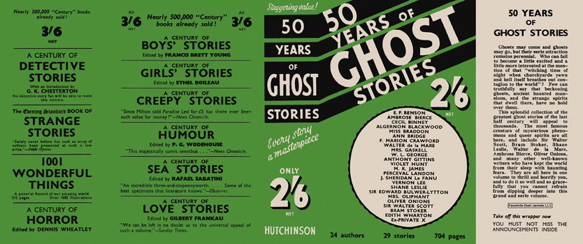 Fifty Years of Ghost Stories. Anthology