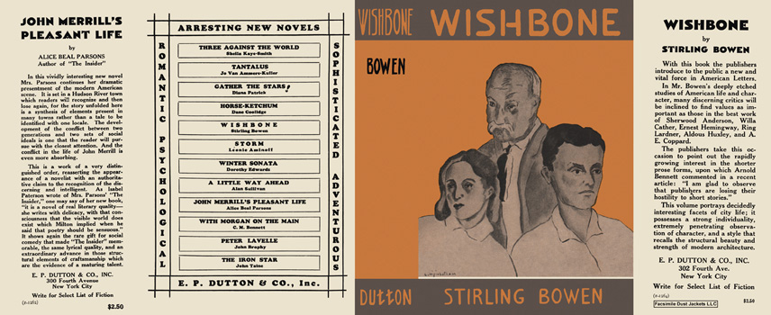 Wishbone. Stirling Bowen.