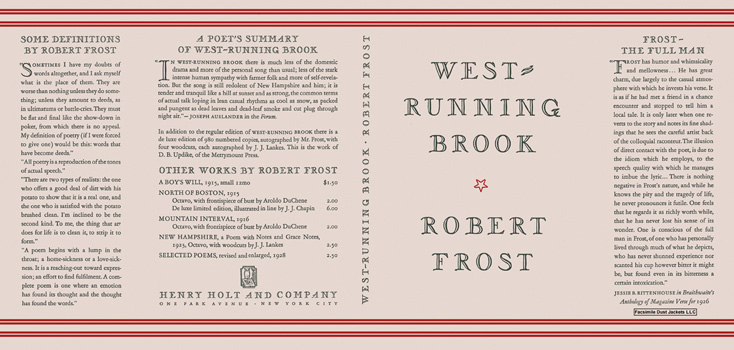 West-Running Brook. Robert Frost