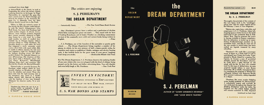 Dream Department, The. S. J. Perelman