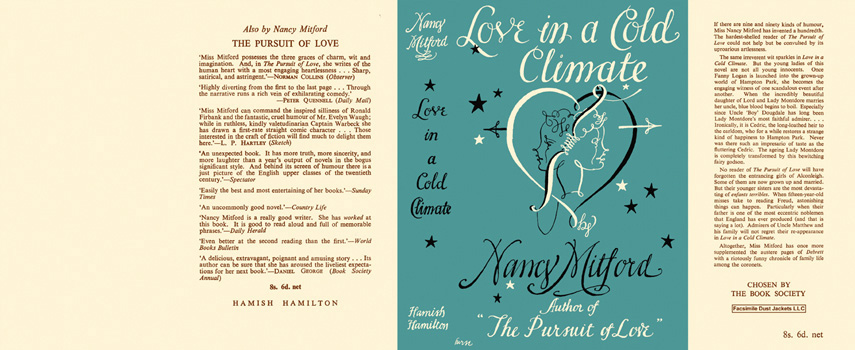 Love in a Cold Climate. Nancy Mitford