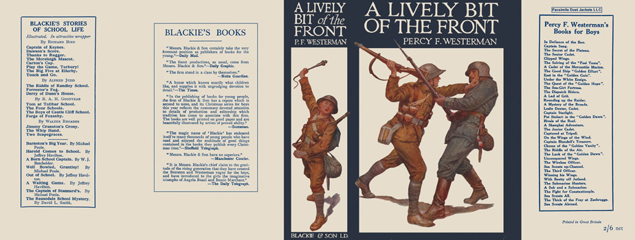 Lively Bit of the Front, A. Percy F. Westerman.