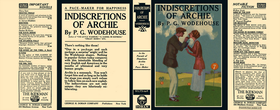 Indiscretions of Archie. P. G. Wodehouse