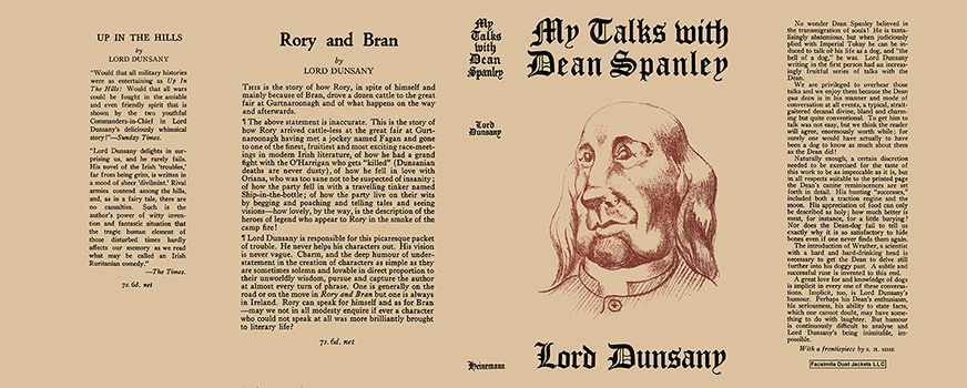 My Talks with Dean Spanley. Lord Dunsany.
