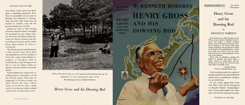 Henry Gross and His Dowsing Rod. Kenneth L. Roberts.