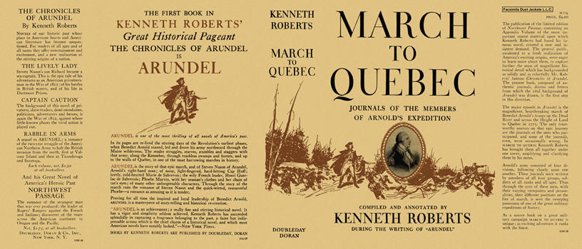 March to Quebec. Kenneth L. Roberts
