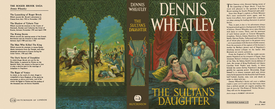 Sultan's Daughter, The. Dennis Wheatley
