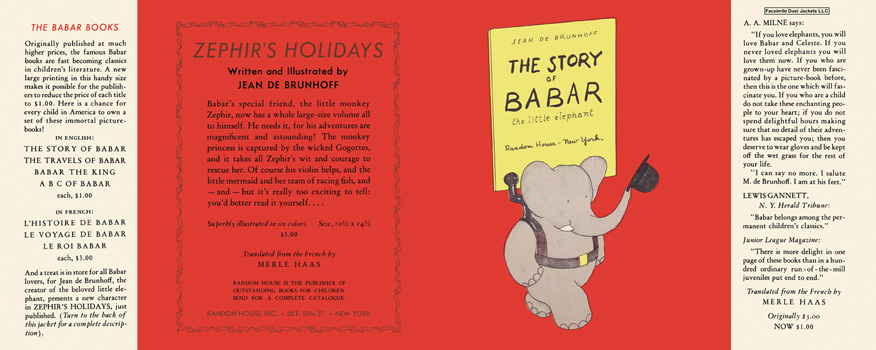 Story of Babar, The. Jean De Brunhoff