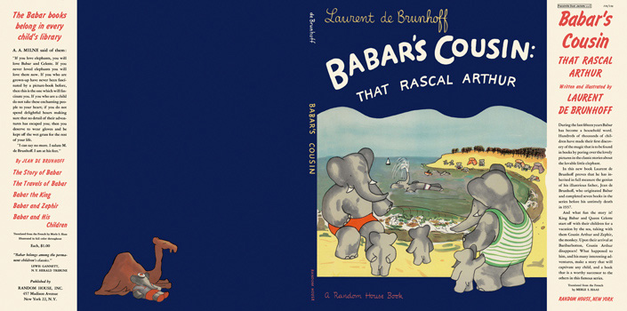 Babar's Cousin: That Rascal Arthur. Laurent De Brunhoff