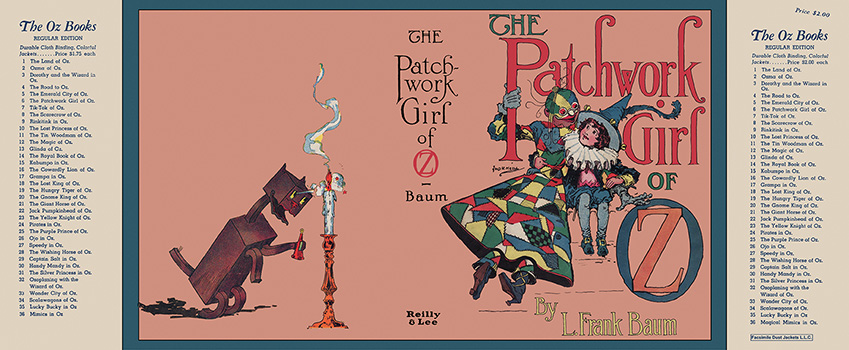 Patchwork Girl of Oz, The. L. Frank Baum