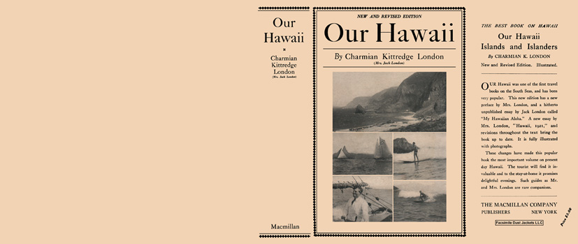 Our Hawaii. Charmian Kittredge London.