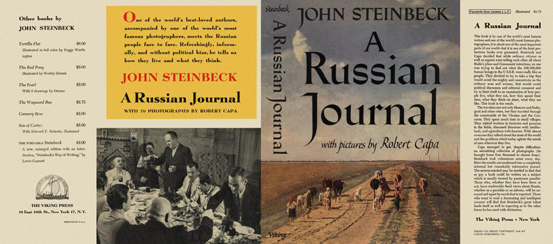 Russian Journal with Pictures by Robert Capa, A. John Steinbeck.