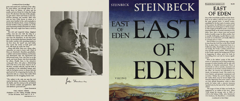 East of Eden. John Steinbeck