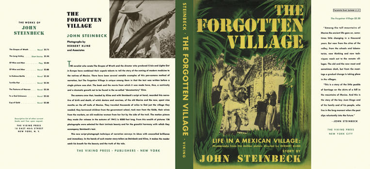 Forgotten Village, The. John Steinbeck