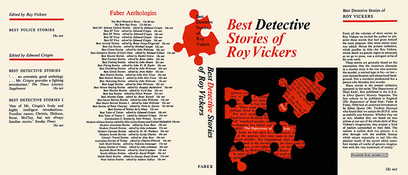 Best Detective Stories of Roy Vickers. Roy Vickers.