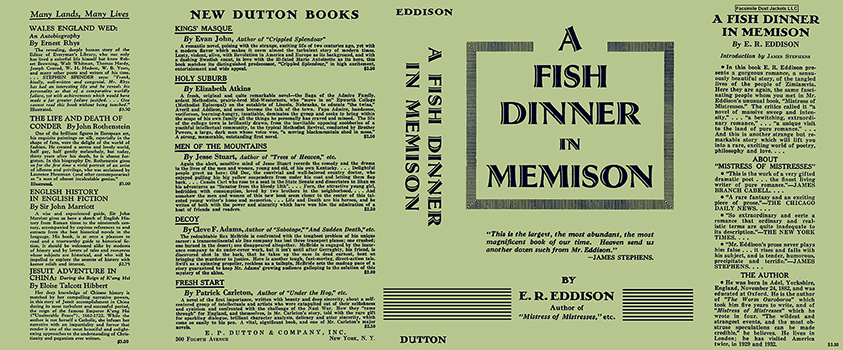 Fish Dinner in Memison, A. E. R. Eddison