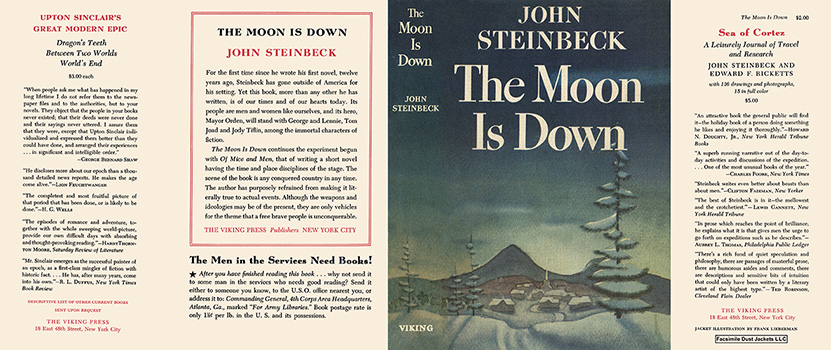 Moon Is Down, The. John Steinbeck