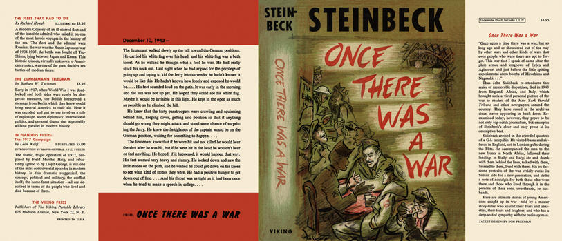 Once There Was a War. John Steinbeck