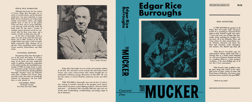 Mucker, The. Edgar Rice Burroughs.
