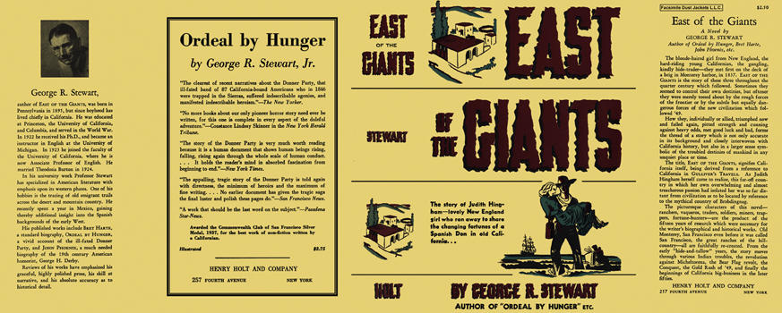 East of the Giants. George R. Stewart