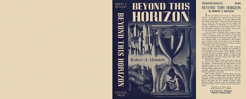 Beyond This Horizon. Robert A. Heinlein.