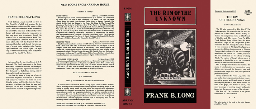 Rim of the Unknown, The. Frank Belknap Long