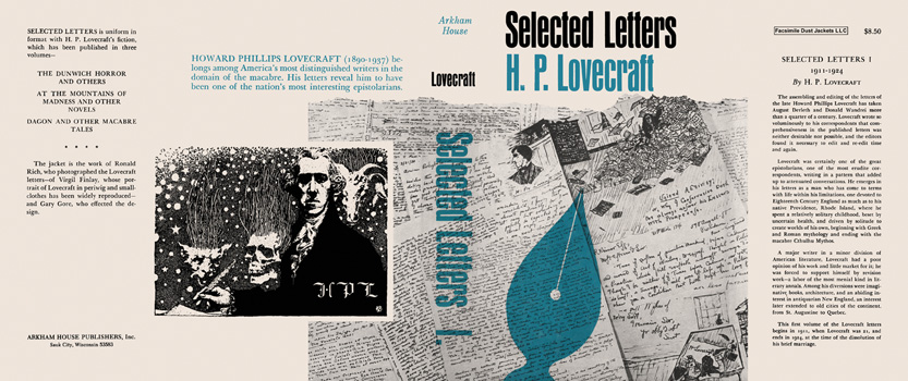 Selected Letters 1, 1911-1924. H. P. Lovecraft