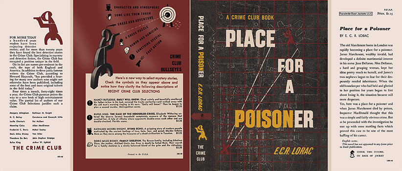 Place for a Poisoner. E. C. R. Lorac